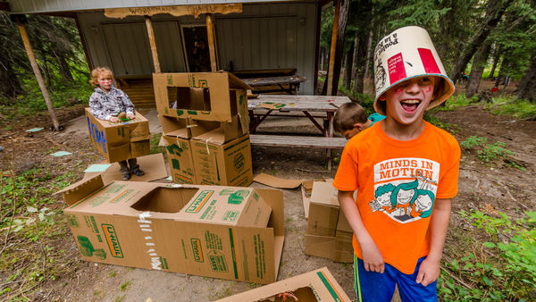 Camp Impeesa Cardboard creations
