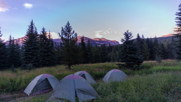 Camp Impeesa Tenting in the wild