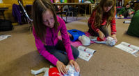 Camp Impeesa First aid skills