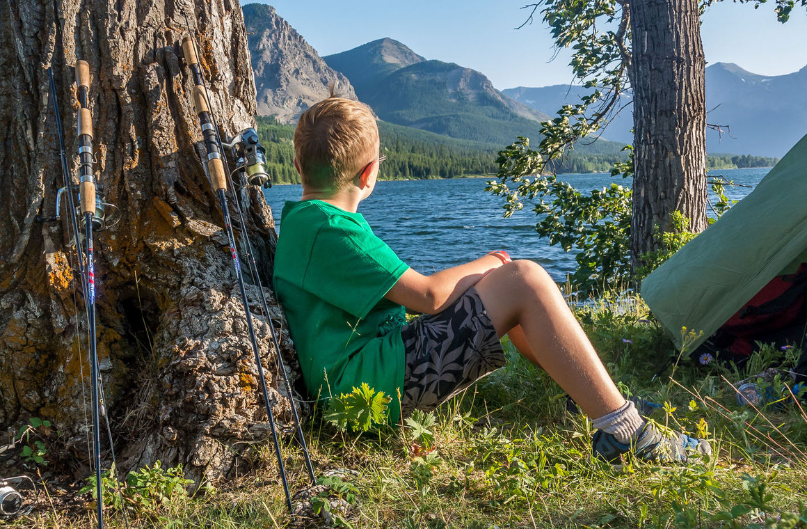 Campers can take in stunning views of the Rocky Mountain wilderness at Camp Impeesa's summer camp in southern Alberta.