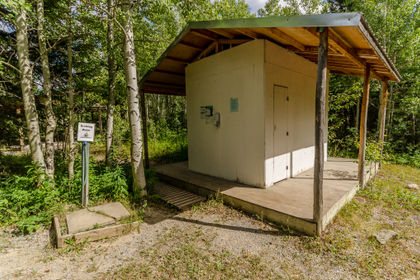 Camp Impeesa Outhouses