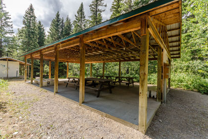 Camp Impeesa Picnic Shelters